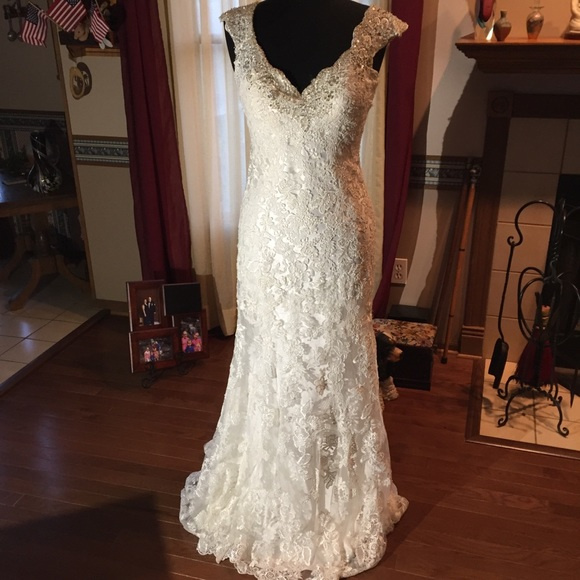 Allure Bridals Dresses | Allure Bridal Gown Style 9212 Ivory Size 10 ...